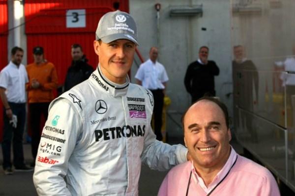 Ο Schumacher είναι παράλυτος και δεν μπορεί να μιλήσει.