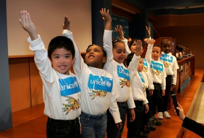 Ολυμπιακός και UNICEF δίπλα στα παιδιά!