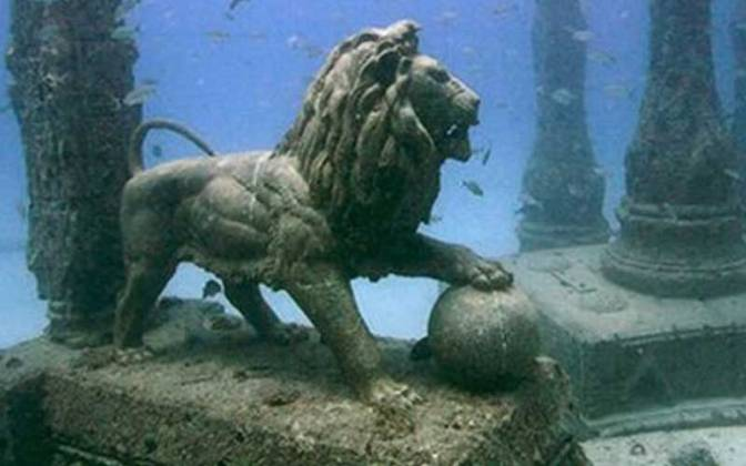 Ανακαλύφθηκε βυθισμένη πόλη που ένωνε την αρχαία Ελλάδα με την Αίγυπτο!